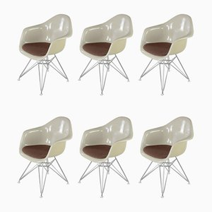 Armchairs by Charles & Ray Eames, 1970s, Set of 6