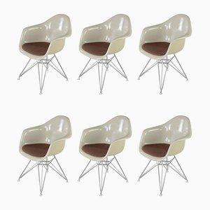 Fauteuils par Charles & Ray Eames, 1970s, Set de 6