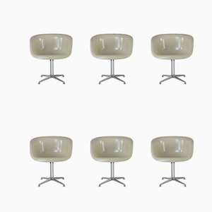 Armchairs by Charles Eames & La Fonda, 1970s, Set of 6