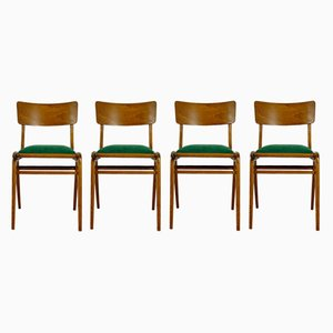 Bumerang Dining Chairs from Gościńskie Furniture Factory, 1960s, Set of 4