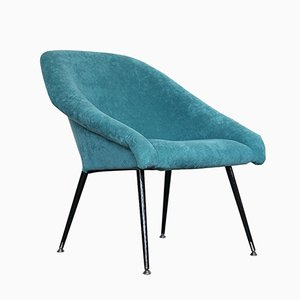 Fauteuil Space Age Turquoise