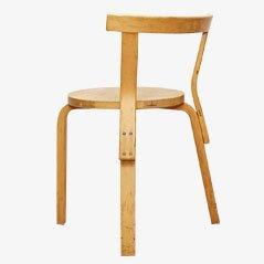 Chaise en Bois Courbé par Alvar Aalto pour Artek, 1960s