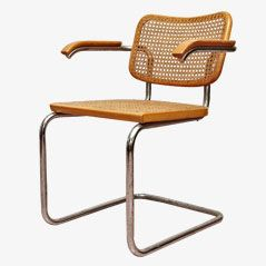 Cesca Armchairs by Marcel Breuer