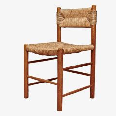 Rattan Side Chair by Charlotte Perriand