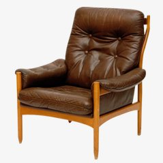 Swedish Mid Century Armchair, 1965
