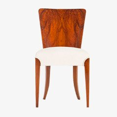 Chaises de Salon Art Déco par Jindrich Halabala pour Thonet