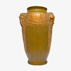 Ceramic Art Nouveau Vase, 1900s