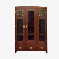 Vintage Art Nouveau Book Cabinet