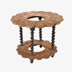 Antique Renaissance Style Side Table, 1880s