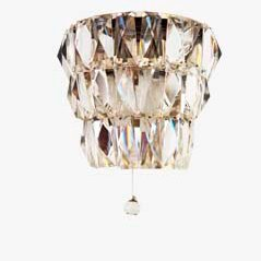 Mid Century Crystal Sconce from Bakalowits & Söhne
