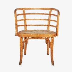 Sedia in faggio di Josef Frank per Thonet, anni '30