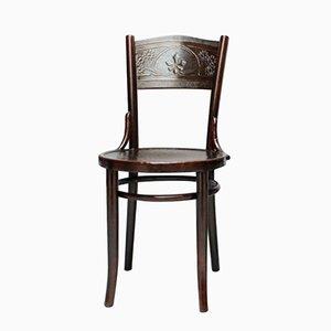 Buchenholz Stuhl von Thonet-Mundus