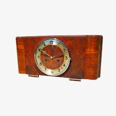 Art Deco Mantel Uhr von Junghans
