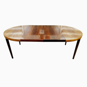 Danish Rosewood Dining Table by Harry Ostergaard for Randers Mobelfabrik