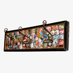 Vintage English Earthenware Coat Rack