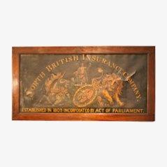 Großes Gemaltes Schild, 1880