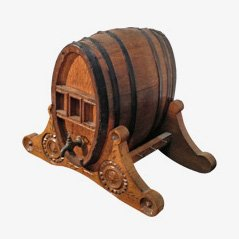Vintage Wine Barrel, 1920