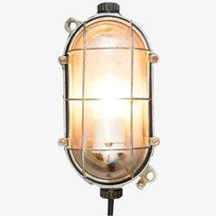 Lampada da parete media vintage industriale a forma di tartaruga di EOW