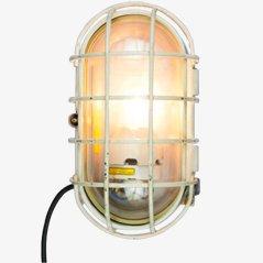 Lampada da parete grande vintage industriale a forma di tartaruga di EOW