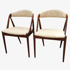 Dining Chairs by Kai Kristiansen, Set of 2