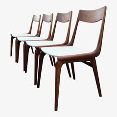 Boomerang Chairs by Alfred Christensen for Slagelse Møbelværk, Set of 4