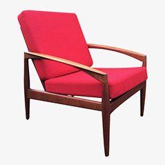Teak Easy Chair by Kai Kristiansen for Magnus Olsen, 1960s, Set of 2