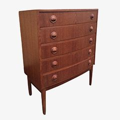Mid-Century Chest of Drawers by Kai Kristiansen