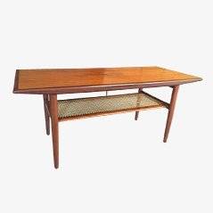 Table Basse en Teck de C.F. Christensen A/S, Danemark, 1960