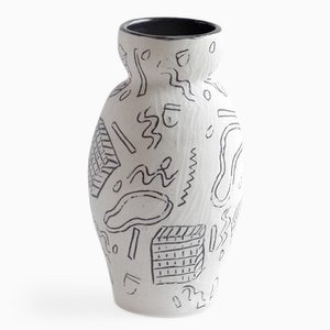 Wacky Inlay Vase par Dana Bechert