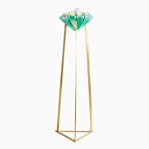 Lampadaire Yassin Torchiere by Bianco Light & Space