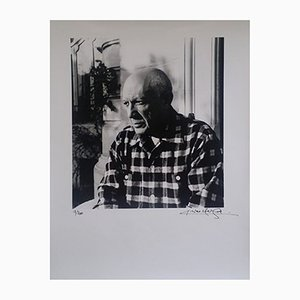 Portrait of Picasso, Print, Lucien Clergue
