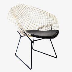 Diamond Chair 421 von Harry Bertoia, 1950er