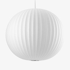 Ball Ceiling Lamp by George Nelson, 1940s