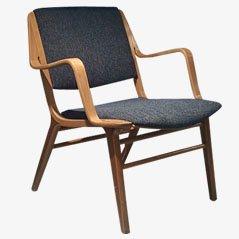 Chaise, Modèle Ax, par Hvidt & Mølgaard pour Fritz Hansen