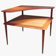 Table d'Angle Minerva par Hvidt & Mølgaard