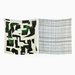 Taper & I Want The One I Can't Have Set of 2 Scarves by Briggs & Cole