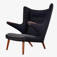 Papa Bear Chair von Hans J. Wegner für AP Stoelen, 1950er
