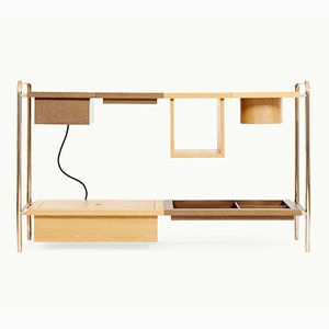 Amelia Console Table W/ Charging Box by Marqqa