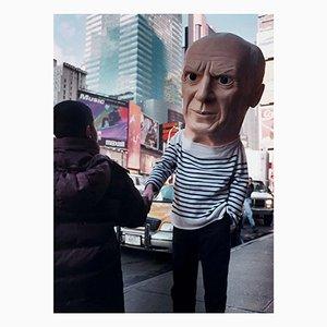 Picasso sin título, fotografía, Maurizio Cattelan, 1998