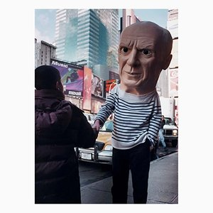 Untitled Picasso, Photograph, Maurizio Cattelan, 1998