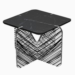 Tavolino da caffè Alchimia nero di Madea Milano
