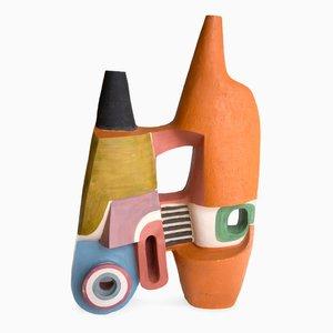 Doppia Bottiglia aus Keramik von Simone Cassini