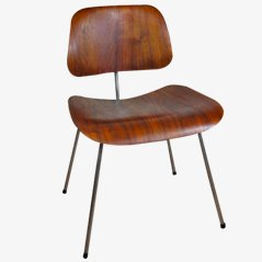 Sedia DCM di Charles & Ray Eames per Evans Products