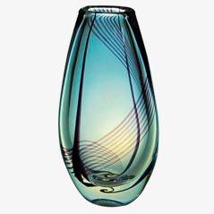 Vase von Vicke Lindstrand für Kosta