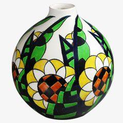 Art Déco Vase by Keramis