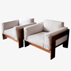 Bastiano Armchairs by Tobia Scarpia for Knoll, Set of 2