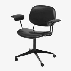 Swivel Desk Chair by BBPR for Olivetti