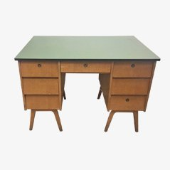 Vintage Belgian Writing Desk