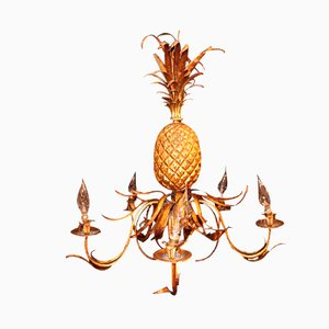 Pineapple Chandelier, 1940s