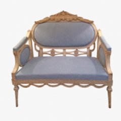 Antique Swedish Sofa, 1840s